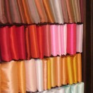 Rack of Single Colour Silk